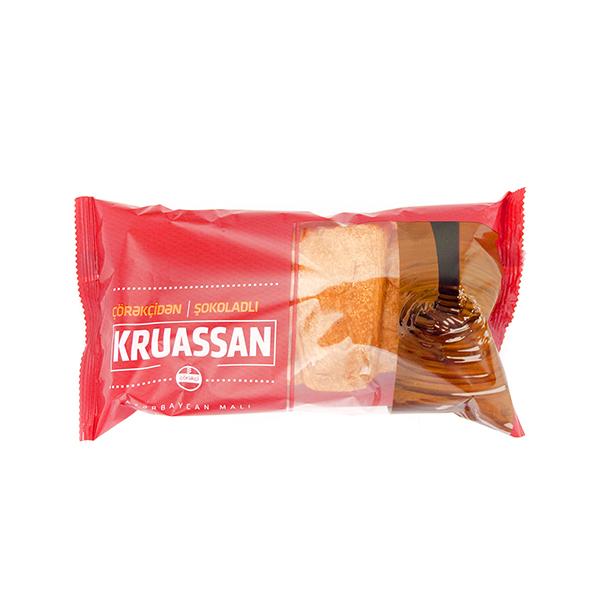 Şokoladlı Kruassan 75 qram